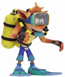Crash Bandicoot: Deluxe Crash Bandicoot with Scuba Gear Action F