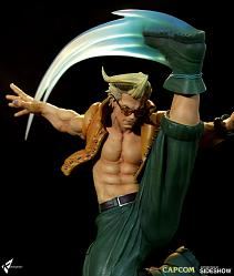 Street Fighter: Charlie Nash - War Heroes Diorama