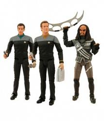 Depp Space Nine Set: Bashir, O´Brian, General Martok