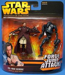 E3 Deluxe Obi-Wan vs Super Battle Droid
