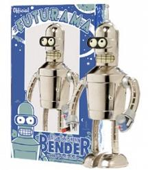 Futurama - Tin Wind Up Shiny Bender 21cm