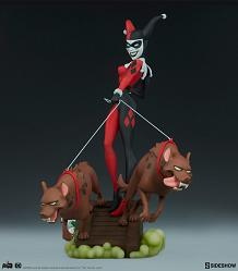 DC Comics: Harley Quinn Red White and Black Statue by Greg HornD