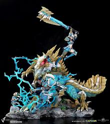 Monster Hunter: Zinogre 1:10 Scale Diorama