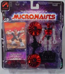 Micronauts: Acroyear (rot/clear)