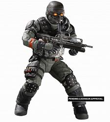 "Killzone Series 1 Helghast Assault Infantry 6.5"" AF"