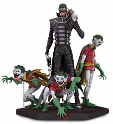 DC Comics: Dark Nights Metal Batman Who Laughs and Robin Statue