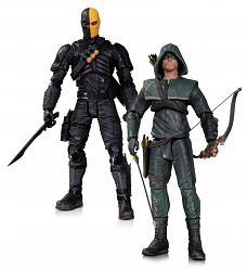 Arrow Actionfiguren Doppelpack Oliver Queen vs. Deathstroke 17 c