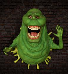 Ghostbusters: Slimer 1:1 Scale Replica Wall Sculpture