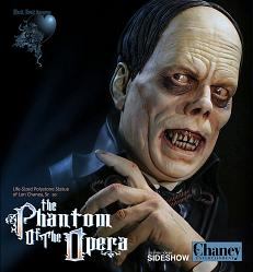 Phantom of the Opera: Lon Chaney Sr as Phantom Life Sized Bust