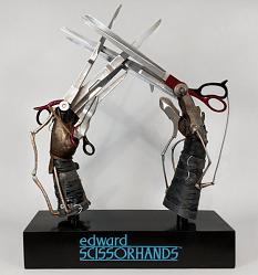 Edward's Scissorhands prop replica