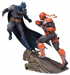 DC Comics: Batman Vs Deathstroke Battle Statue
