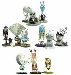 Tim Burton Tragic Toys Gift Box 4er Set