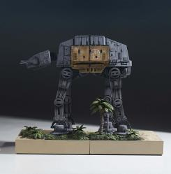 Star Wars: AT-ACT Bookends