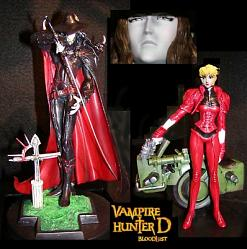 Vampire Hunter D 16cm Actionfiguren 2er Set