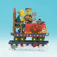 THE SIMPSONS CHRISTMAS EXPRESS 4: FEAST FOR ONE STATUE