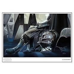 Star Wars Darth Vader Confinement Paper Giclee Print