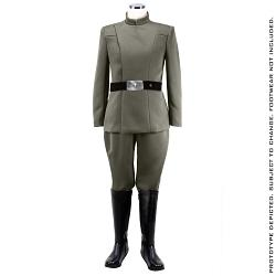 Star Wars: Men's Imperial Officer - Olive Uniform Std. Line Size