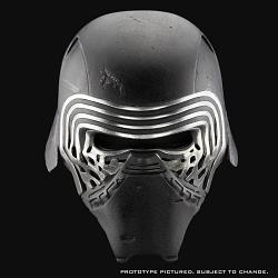 Star Wars The Force Awakens: Kylo Ren Helmet 1:1 Replica