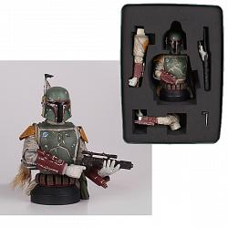 SDCC 2013 Exclusive Star Wars Boba Fett Deluxe Mini Bust
