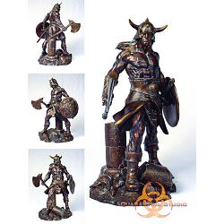 Conan the Brutal Faux-Bronze Statue