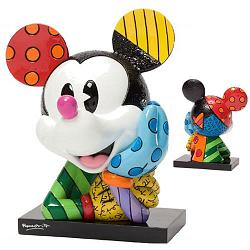 "Britto Disney Figurines and Boxes - 6 1/2"" Mickey Mouse Bust"