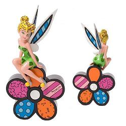 "Britto Disney Figurines and Boxes - 8 1/4"" Tinker Bell On Britto"