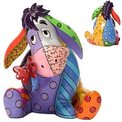 "Britto Disney Figurines and Boxes - 6 3/4"" Eeyore"