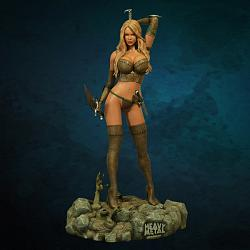 HEAVY METAL: INTO THE FOG 1:4 SCALE STATUE