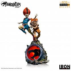 Thundercats: Deluxe WilyKit and WilyKat 1:10 Scale Statue