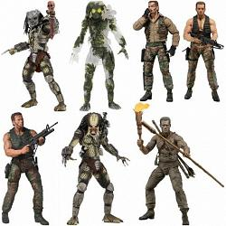 Predator: 30th Anniversary Figure Jungle Encounter Dutch