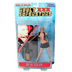 Adult Superstars 1 Houston Black Outfit Action Figure