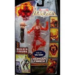 Marvel Legends Serie 5 (Ares) Actionfigur: Nova Flame Human Torc