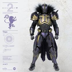 Destiny 2: Titan - Golden Trace Shader 1:6 Scale Figure