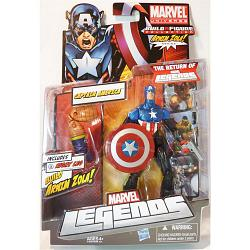 Marvel Legends 2012 Serie 2 Actionfigur: Heroic Age Captain Amer