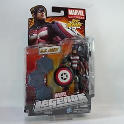 Marvel Legends 2012 Serie 3 Actionfigur: U.S. Agent