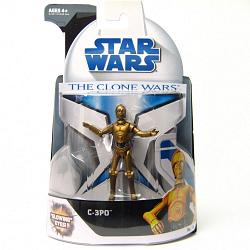 Star Wars 2008 Clone Wars Animated Action Figure No. 16 C3PO
