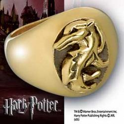 Harry Potter Hogwarts House Ring Hufflepuff Size 10