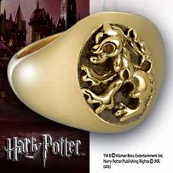 Harry Potter Hogwarts House Ring Gryfindor Size 10