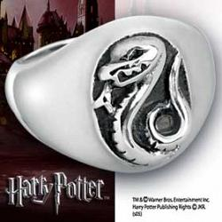 Harry Potter HP Hogwarts House Ring Slytherin Size 10