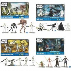 Star Wars Battle Pack Assortment - Wave 1-2010 (4 Packs)