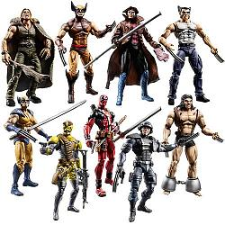 Wolverine Movie Action Figures Wave 1 Gambit
