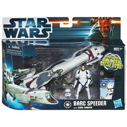 Star Wars BARC Speeder Bike with Clone Trooper (Episode III)