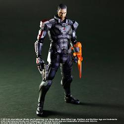 Mass Effect 3 Play Arts Kai Actionfigur Commander Shepard 22 cm
