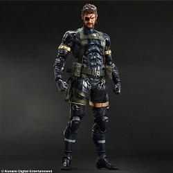 Metal Gear Solid 5 Ground Zeroes Play Arts Kai Actionfigur Snake
