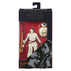 Star Wars Black Series Actionfiguren 15 cm  Rey (Jakku) and BB-8