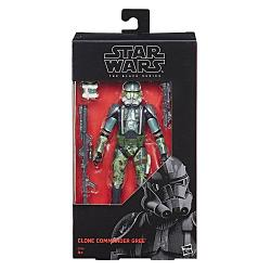Star Wars Episode III Black Series Actionfigur Clone Commander G