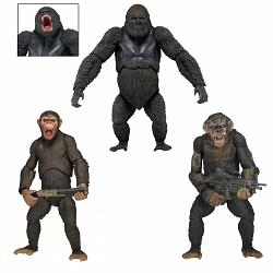 Dawn of the Planet of the Apes Actionfiguren 18 cm Serie 2 (3 Fi