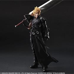 Final Fantasy VII Advent Children Play Arts Kai Actionfigur Clou