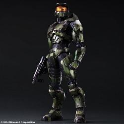 Halo 2 Play Arts Kai Actionfigur Master Chief Anniversary Editio