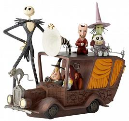 Nightmare Before Christmas: Mayor Car Figurine